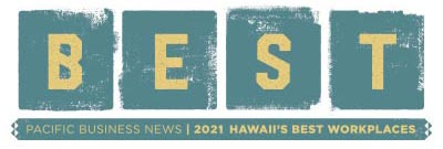 Hawaii Best Workplace 2021